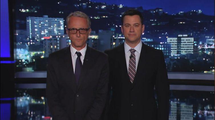 Alex Leeb and Jimmy Kimmel